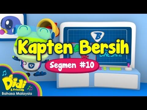 Kapten Bersih | Didi & Friends | Segmen #10