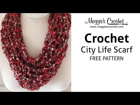City Life Scarf for Mother's Day - Right Handed