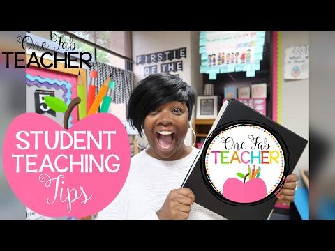 Student Teacher Tips