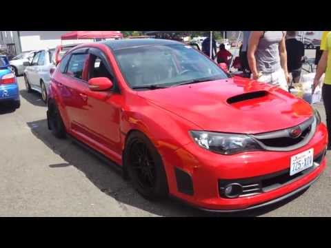 Red 2010 Subaru WRX STI - Forum Fest 2013