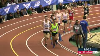 Boys 2 Mile Section 3 - New Balance Nationals Indoor 2014