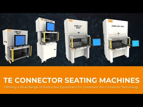 Complete Lineup of Connector Seating Machines