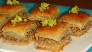 Пахлава турецкая.Как приготовить плюсы и минусы.Baklava Turkish.How to cook.
