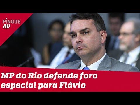 MP do Rio defende foro especial para Flávio Bolsonaro