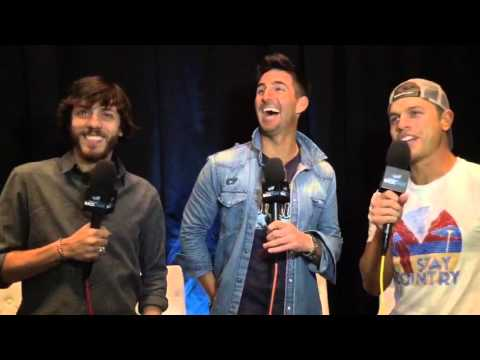 Jake Owen with Chris Janson and Dustin Lynch