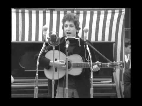 Mr Tambourine Man  at the Newport Folk Festival 1964