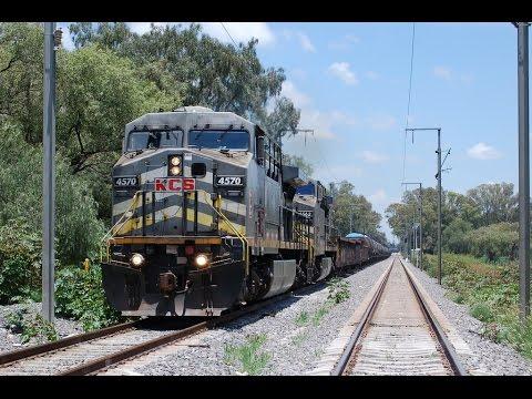 Trenes a alta velocidad de KCSM en Querétaro (Parte 1)