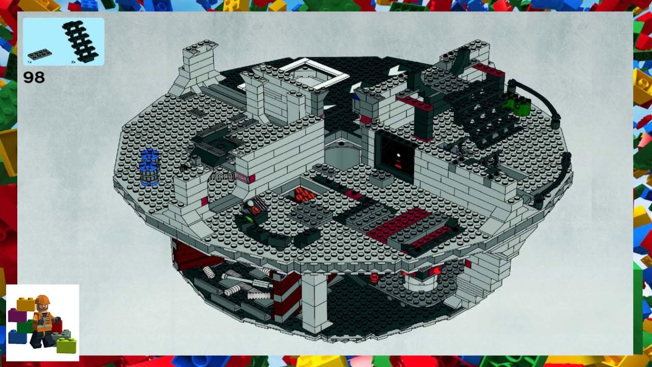 Lego Instructions Star Wars 10188 Death Star Youtube