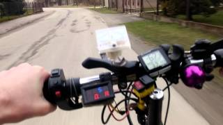 electric bike 3000w riding 73km h