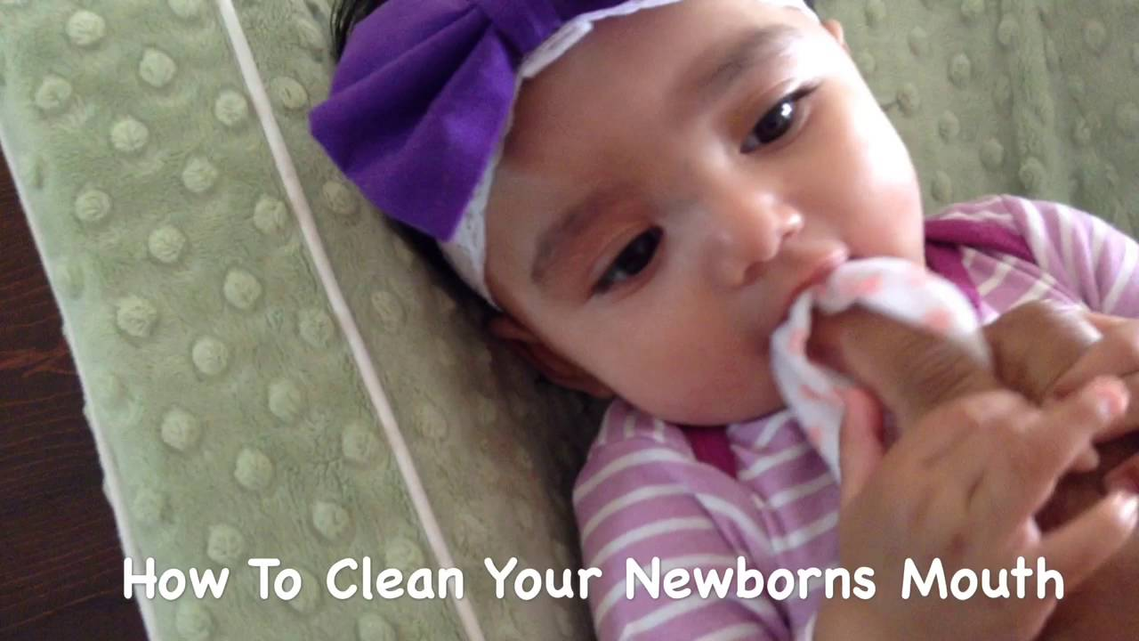 How To Clean Your Newborns Mouth