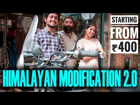 Himalayan Accessories Vlog | Karol Bagh Bike Market | Cheap Accessories | #WhereDoWeGoNow