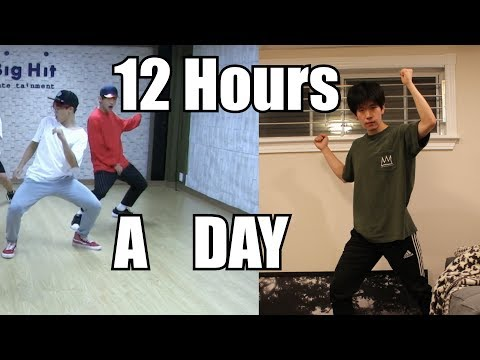 I Tried Dancing 12 Hours a Day like BTS for a Week