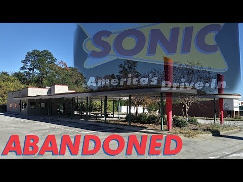 Abandoned Sonic Drive-In In Macon, Georgia