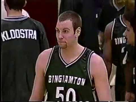 Boston University 63 Binghamton 59 (2004 men's basketball)