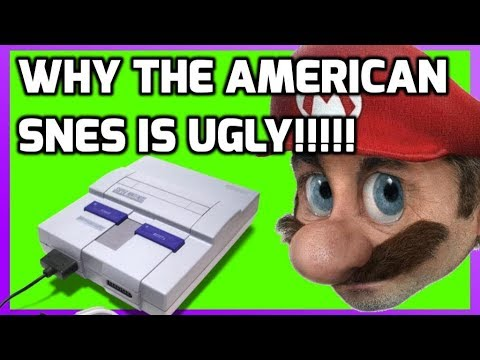 Why is The North American SNES Ugly???? - Super Nintendo History  - THGM