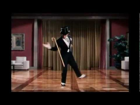 Fred Astaire Dancing to Michael Jackson's Smooth criminal.