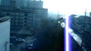 降る雪を撮ってみた動画 ( 山口県周南市) <20110115撮影> 撮影→けん...