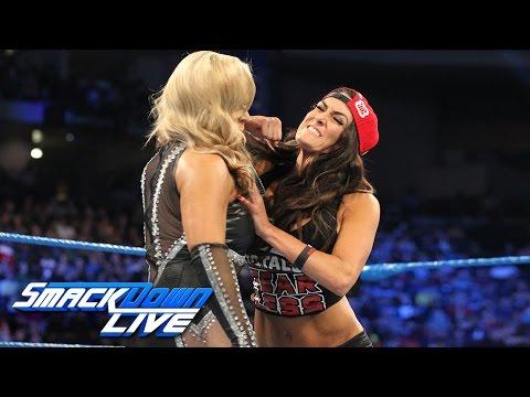 A war of words turns volatile between Nikki Bella and Natalya: SmackDown LIVE, Jan. 3, 2017