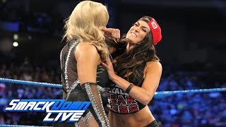 A war of words turns volatile between Nikki Bella and Natalya: SmackDown LIVE, Jan. 3, 2017