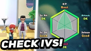 How To Check IVs In Pokémon Let