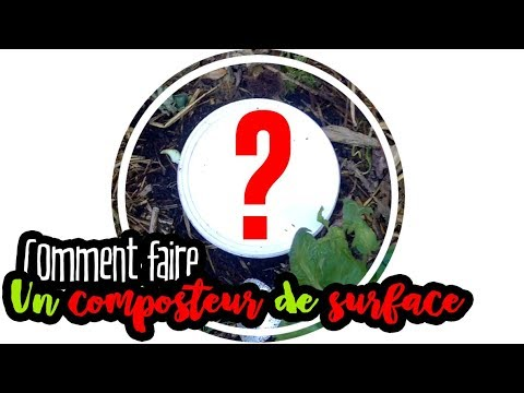 permaculture comment faire un composteur de surface en 2min youtube. Black Bedroom Furniture Sets. Home Design Ideas
