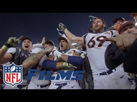 Top NFL Films Shots | Panthers vs. Broncos: Super Bowl 50