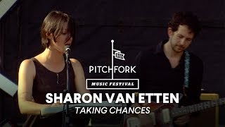 "Sharon Van Etten performs ""Taking Chances"" - Pitchfork Music Festival 2014"