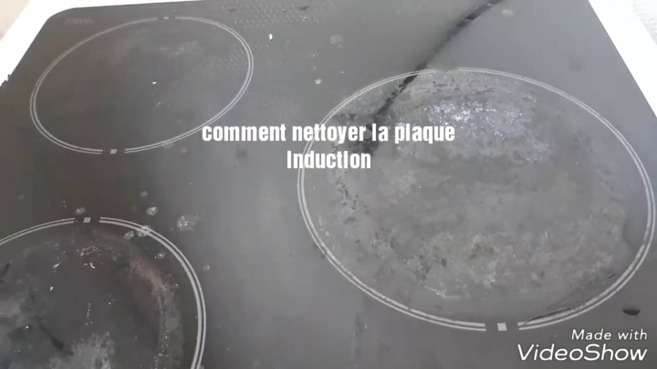 astuce comment nettoyer la plaque induction youtube