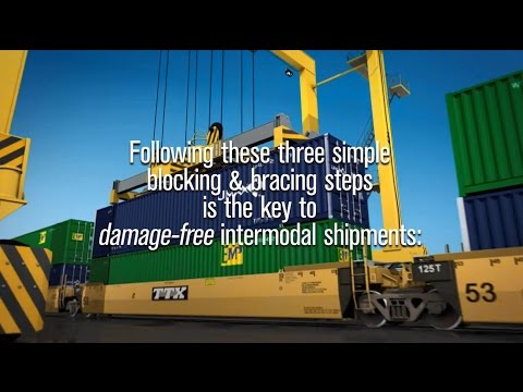 Three Simple Steps for Damage-Free, Intermodal Shipments