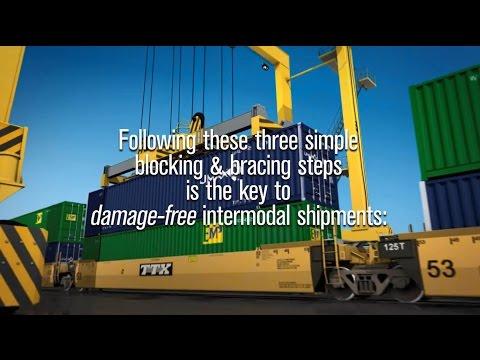 Three Simple Steps for Damage-Free, Intermodal Shipments