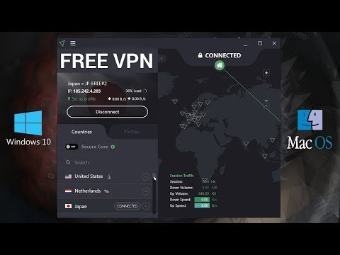 Best & The Fastest Free VPN 2019! (Mac & Windows PC) Free Unlimited VPN