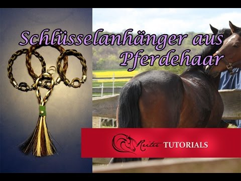 tutorial pferdehaar schl sselanh nger selber machen ganz einfach reitertutorials youtube. Black Bedroom Furniture Sets. Home Design Ideas