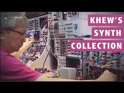 Singapore's Synthesizer Collector - Khew Sin Sun
