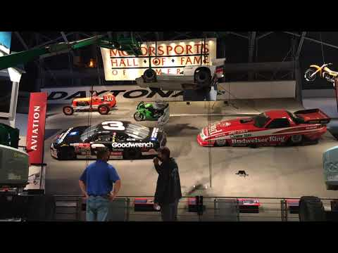 """New Vehicles Added to Motorsports Hall of Fame's """"Sweep of Speed"""""""