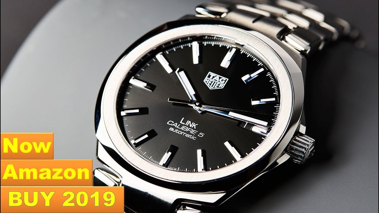 a0bffa265514 Top 5 Best Tag Heuer Watches Buy On Amazon 2019 - YouTube