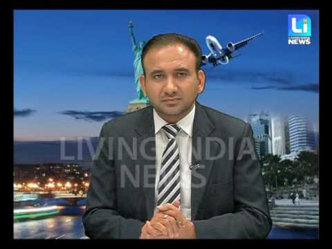 Visa Live with Pardeep Balyan (Western Overseas) on Living India News Channel