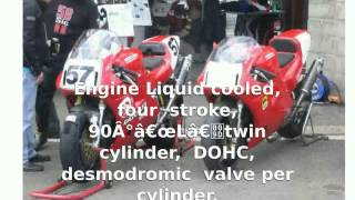 Ducati 851 Strada Tricolore -  Details Top Speed Features Info superbike Transmission