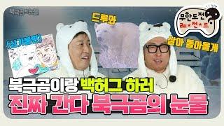 """[11月의 무도] 도토아빠가 쏘아올린 작은 공, 북극곰을 만나다 """"북극곰의 눈물"""" infinite challenge"""