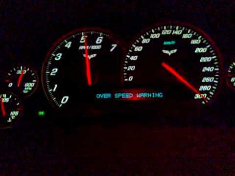CORVETTE C6 LS3 Top Speed (AL-BAGHLI) - YouTube