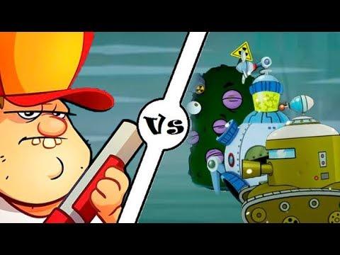 БОЛОТНАЯ Атака #37 БОССЫ БИТВА с БОССАМИ Мультик Игра для детей Swamp Attack #Мобильные игры