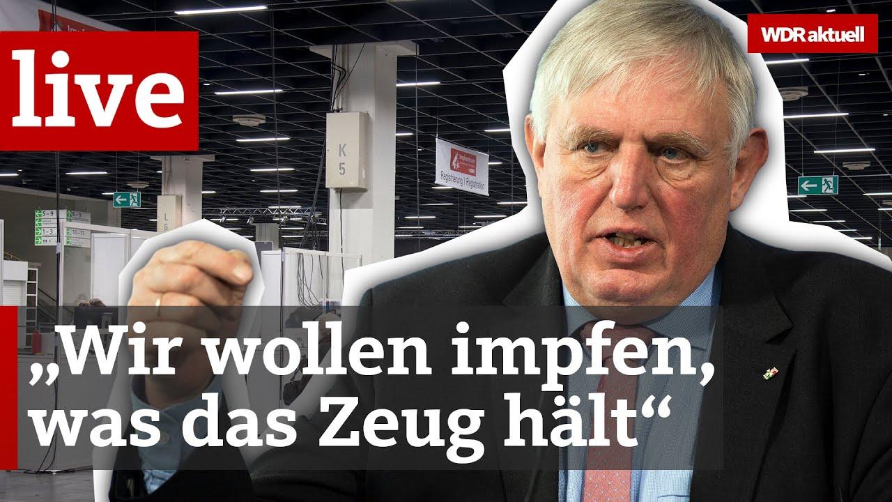 NRW-Gesundheitsminister Laumann über die Corona-Lage und den Stand der Impfungen | WDR aktuell
