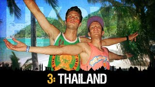 HK2NY Ep 3: Backpacking in Thailand