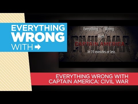 "Everything Wrong With ""Everything Wrong With Captain America: Civil War"""