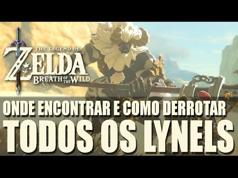 ZELDA BREATH OF THE WILD - ONDE ENCONTRAR...