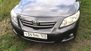 Toyota Corolla робот. Тест драйв. Видеодневник #5