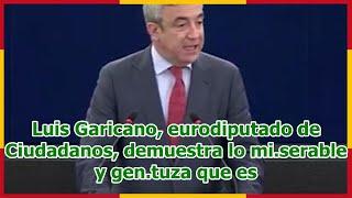 Luis Garicano, eurodiputado de Ciudadanos, demuestra lo mi.serable y gen.tuza que es