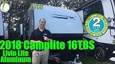 2015 Livin' Lite Camplite 13QBB travel trailer only 2,350