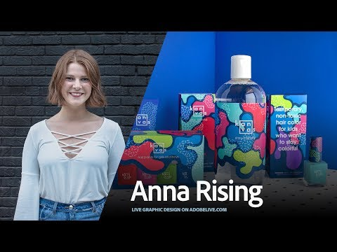 Live Graphic Design with Anna Rising 3/3