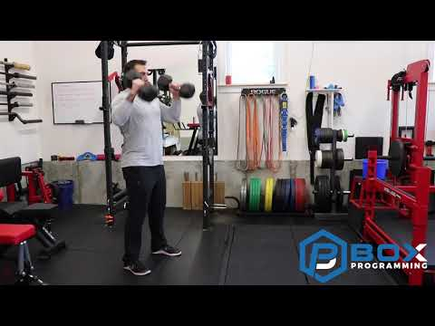 DB Hang Power Cleans