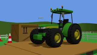 Tractor Fairy Tale for Kids - Formation and uses | Animacje Traktor | Traktory Konstrukcje